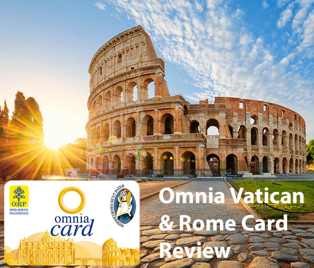 The Omnia Rome & Vatican Pass Card