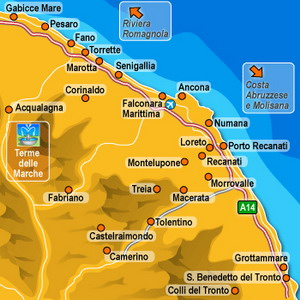 Click here for the visual search for Hotels in Le Marche provided by Venere.com